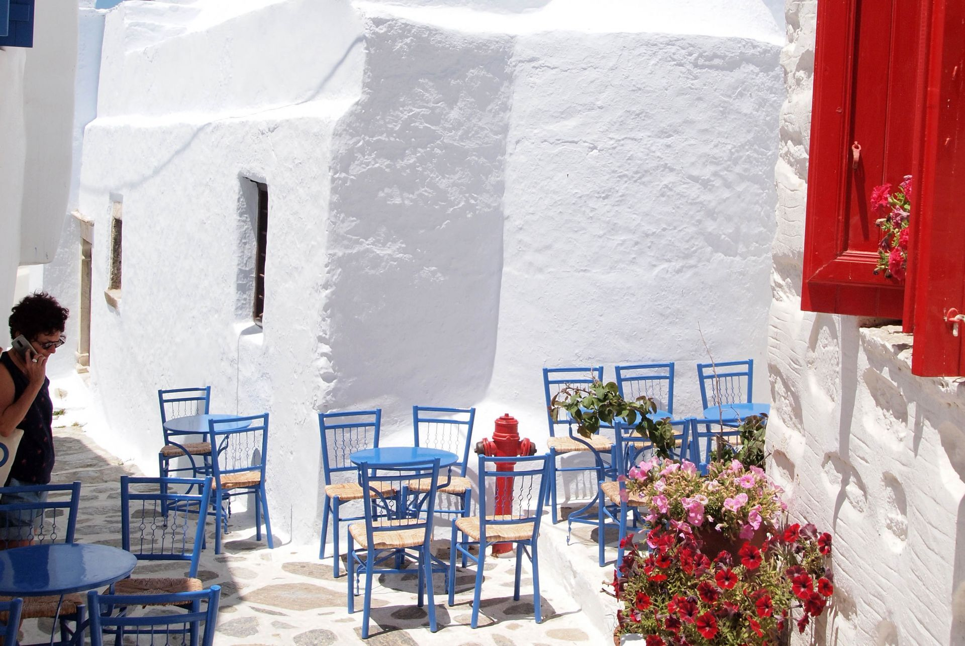 Cafes in Amorgos