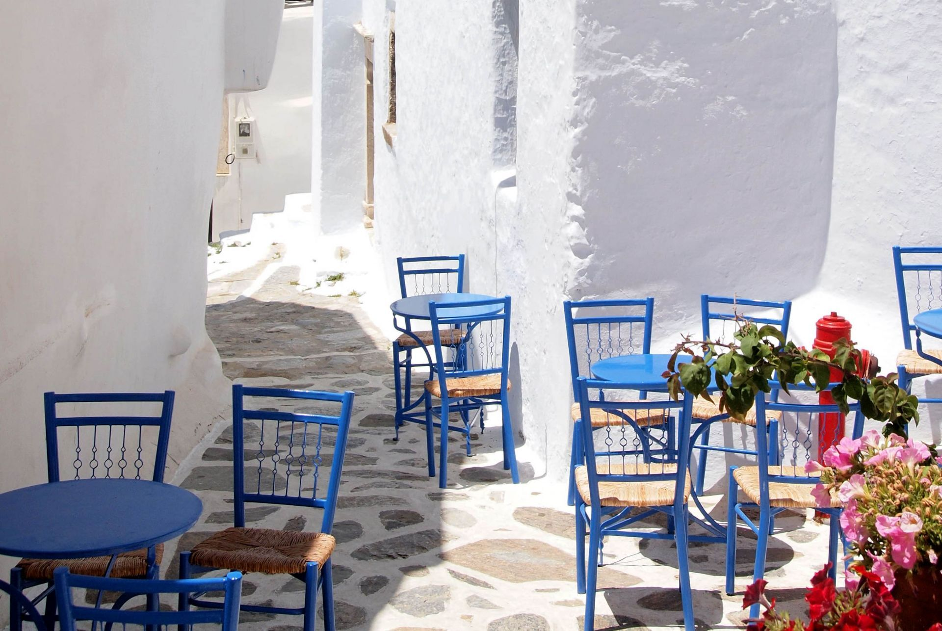 Places to enjoy a dessert in Amorgos
