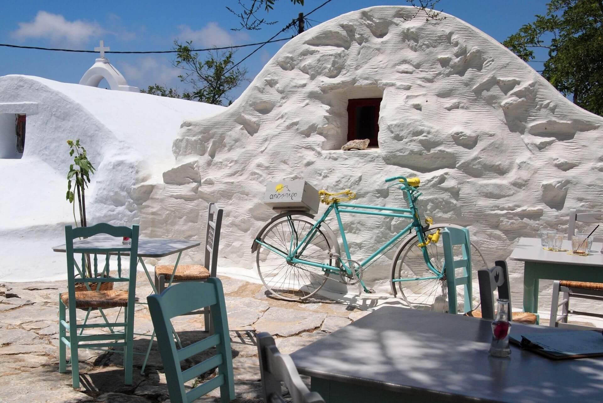 Restaurants in Amorgos