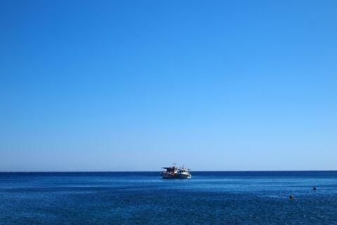 Endless blue of Amorgos