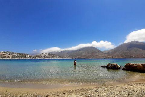 Swiming at Nikouria