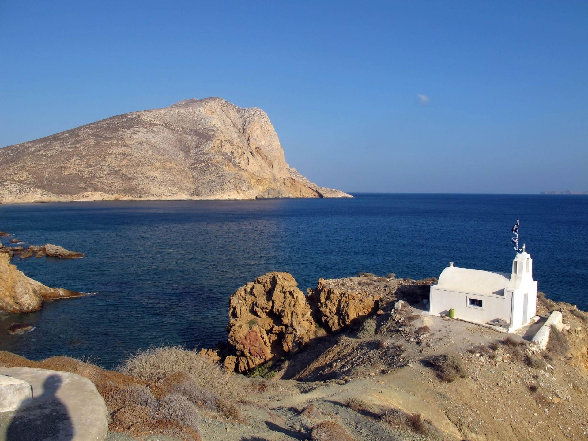 Anafi island: Kalamos