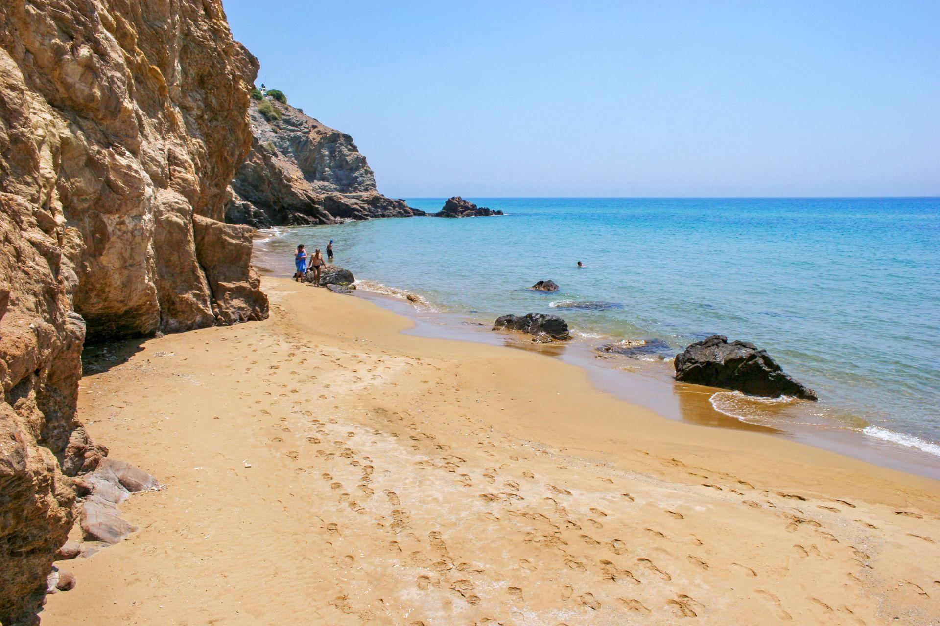 Anafi island: Agios Nikolaos