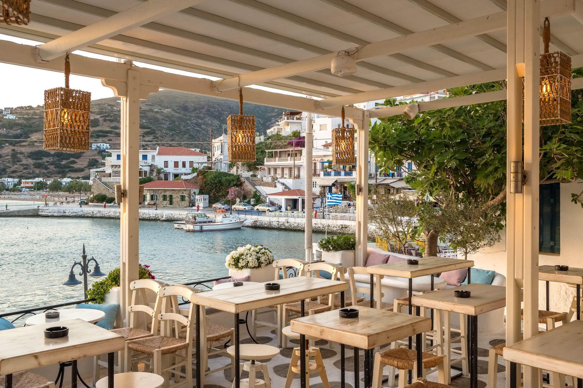Restaurants in Andros