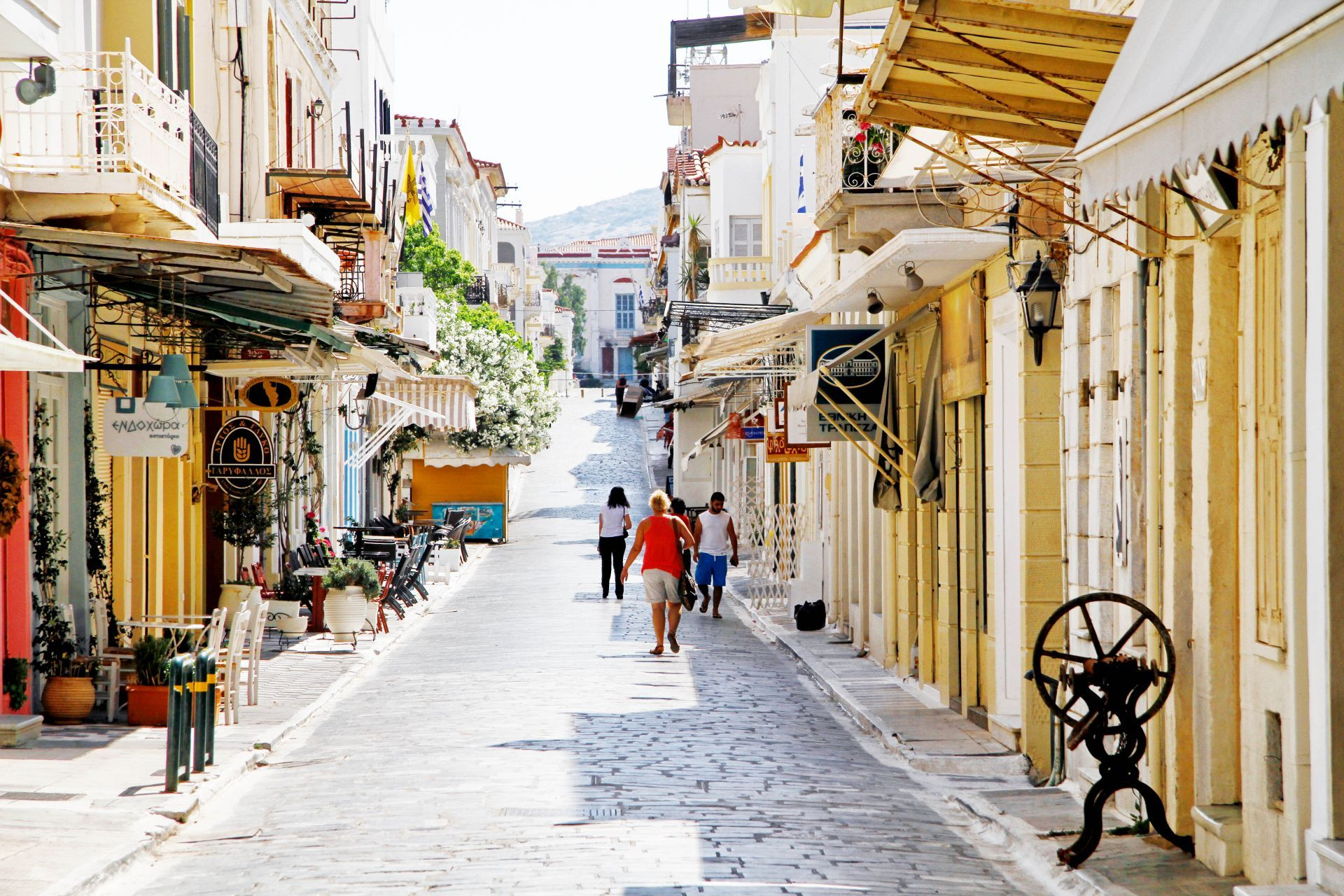 Andros island: Chora