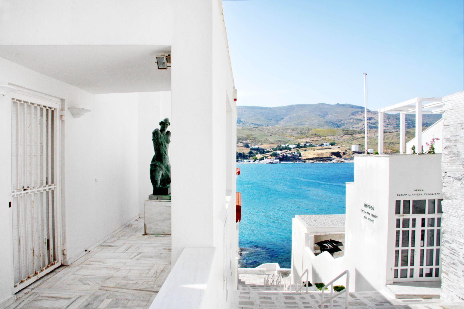 Andros island: Goulandris museum of modern art