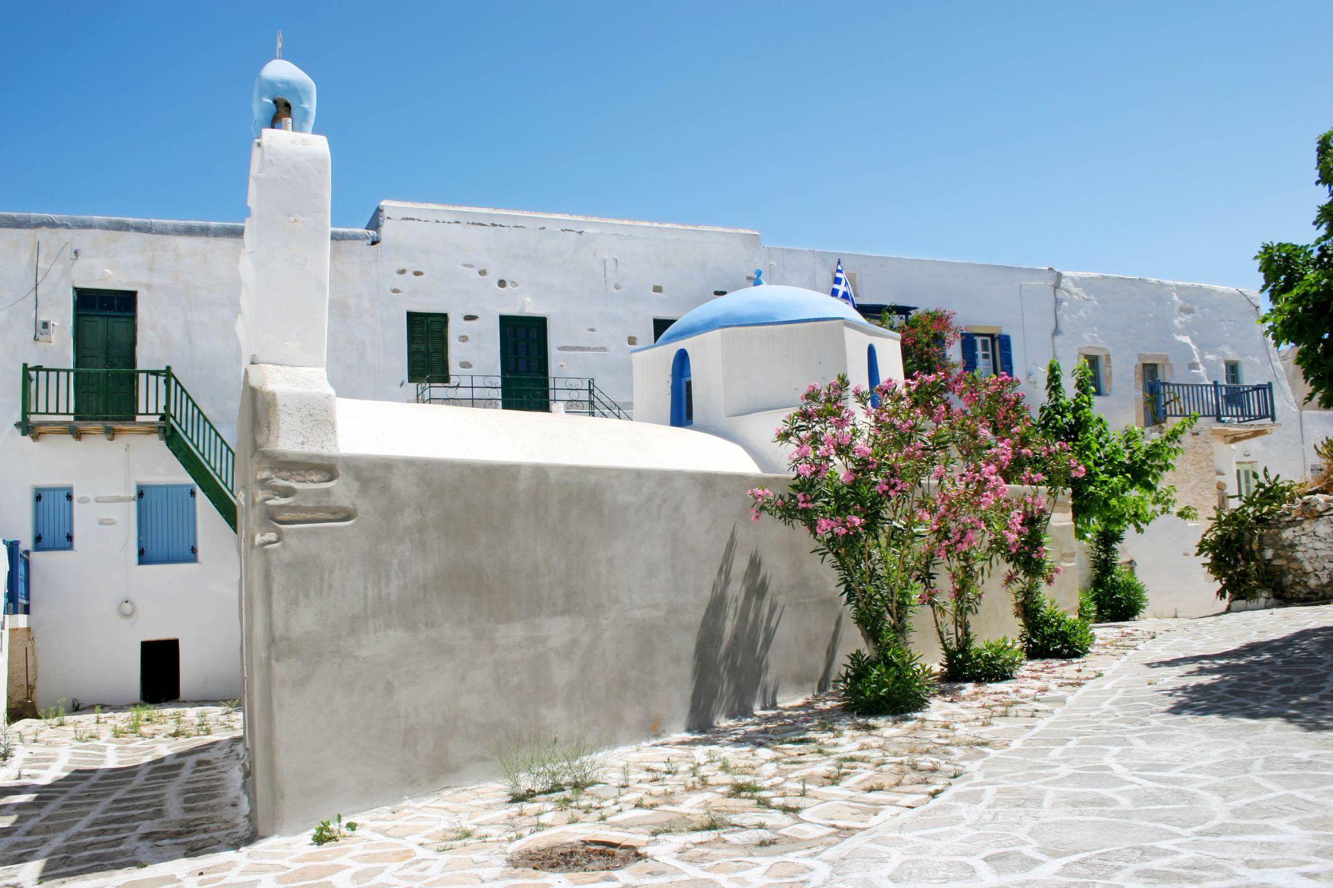 Antiparos island: Venetian Castle