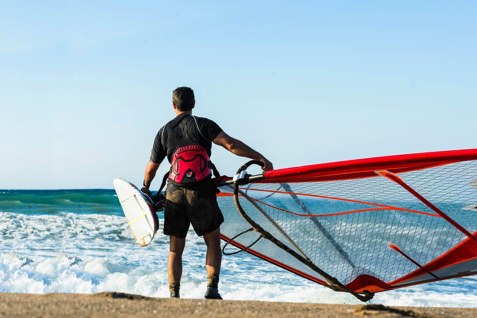 Sport activities on Antiparos island
