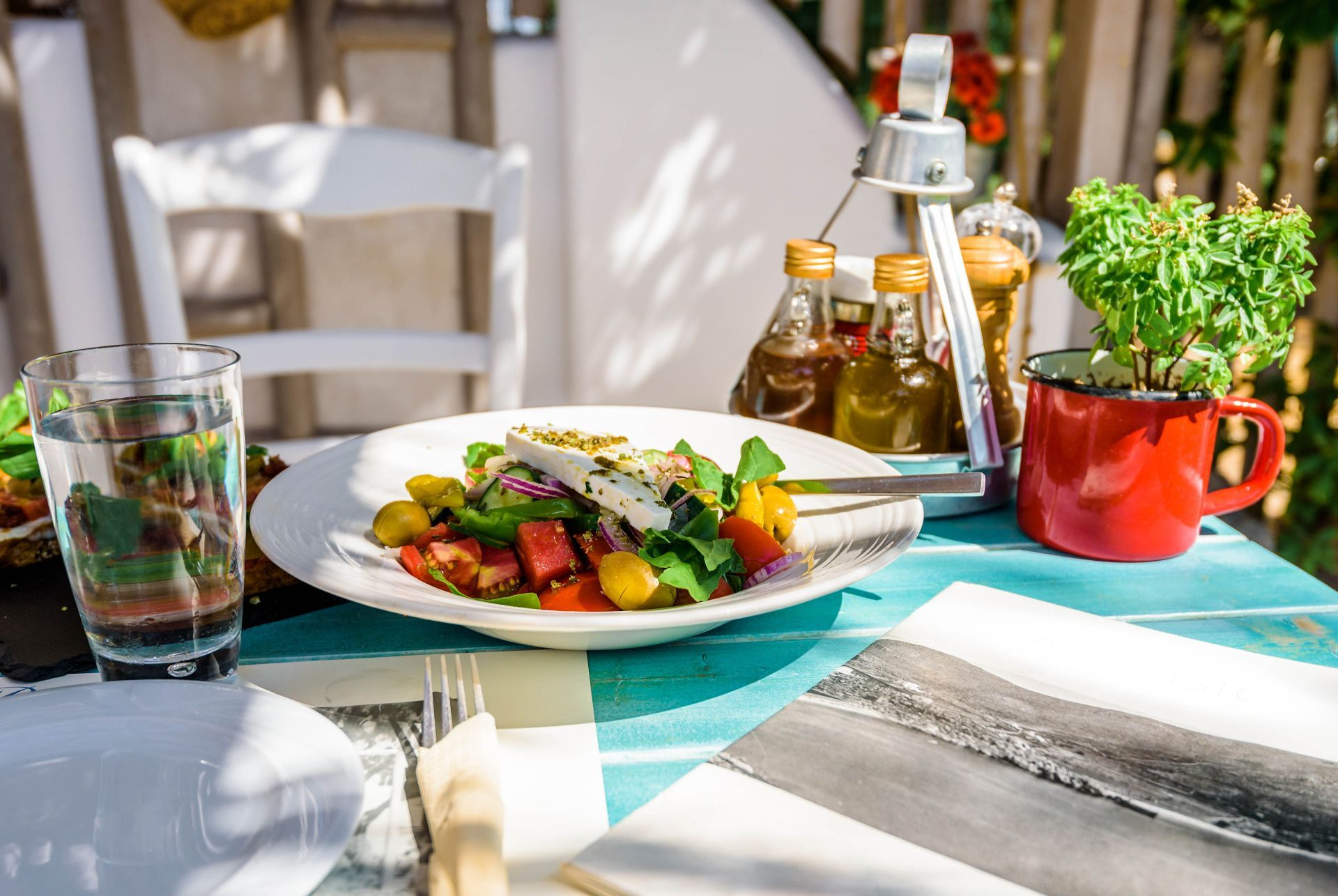 Places to eat and drink in Donoussa