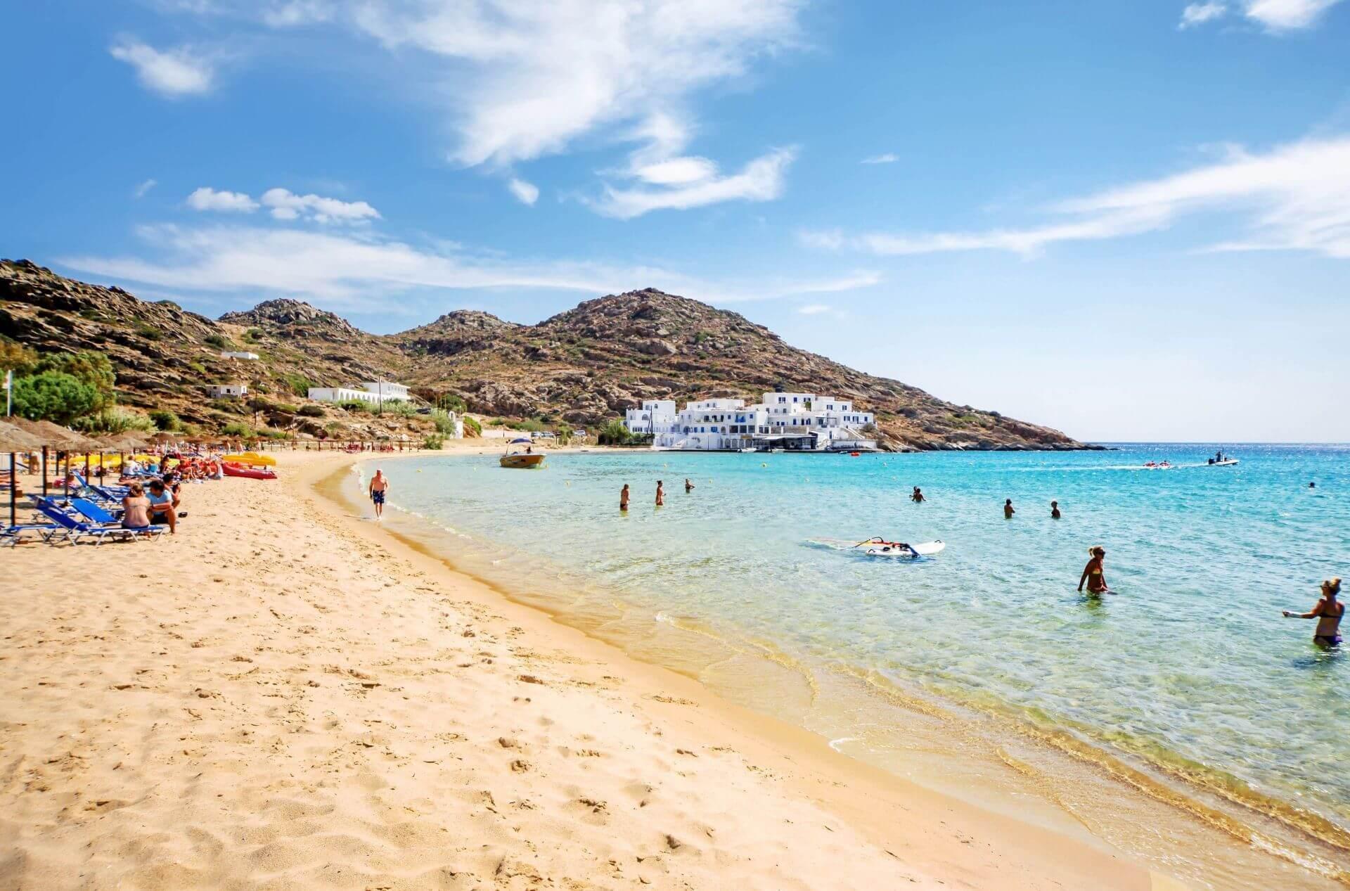 Ios Greece: Mylopotas beach