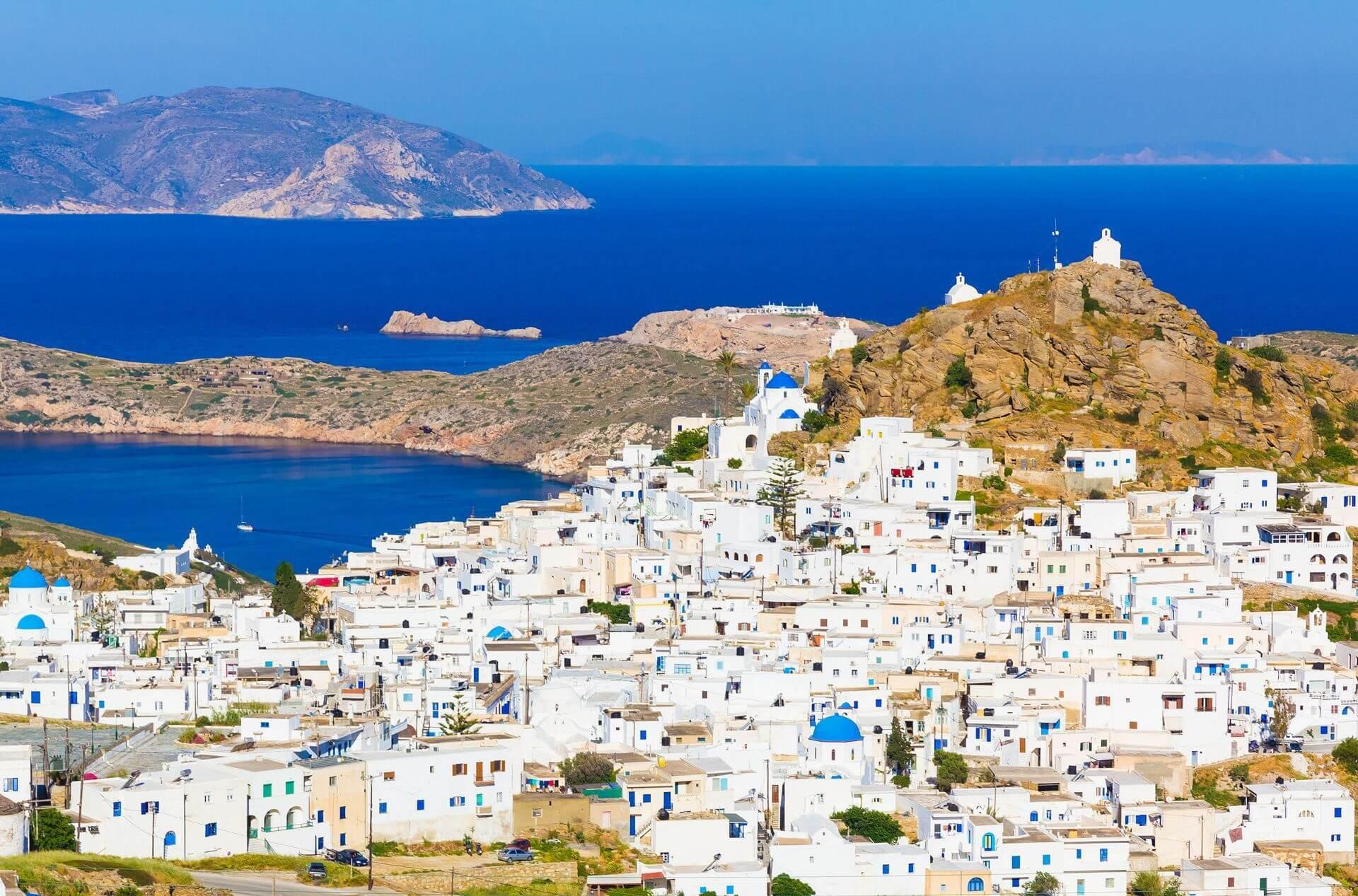 Ios island: Chora