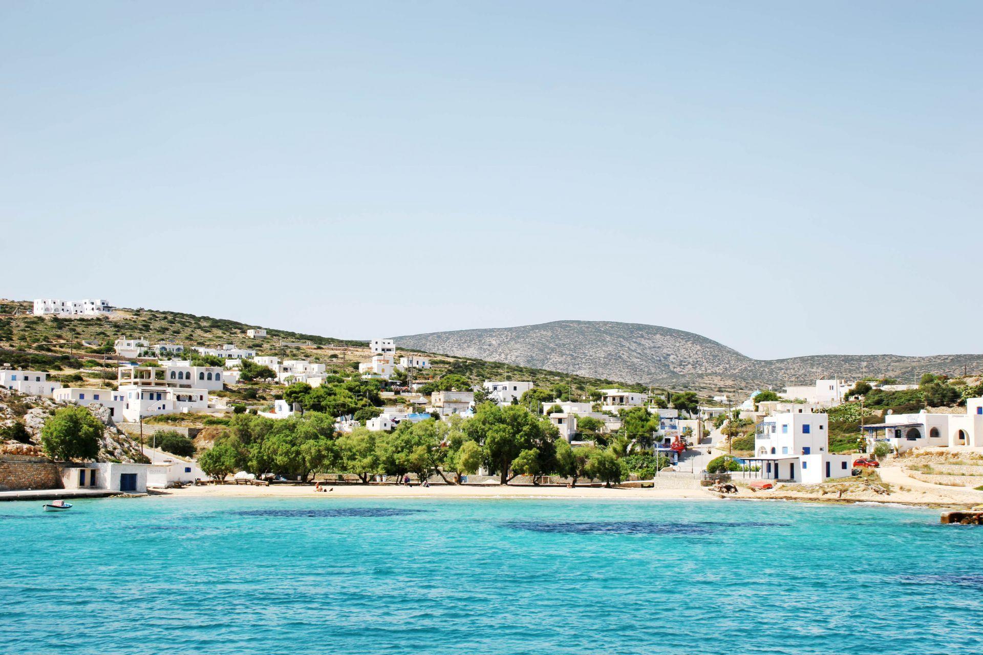 Iraklia island: Agios Giorgios
