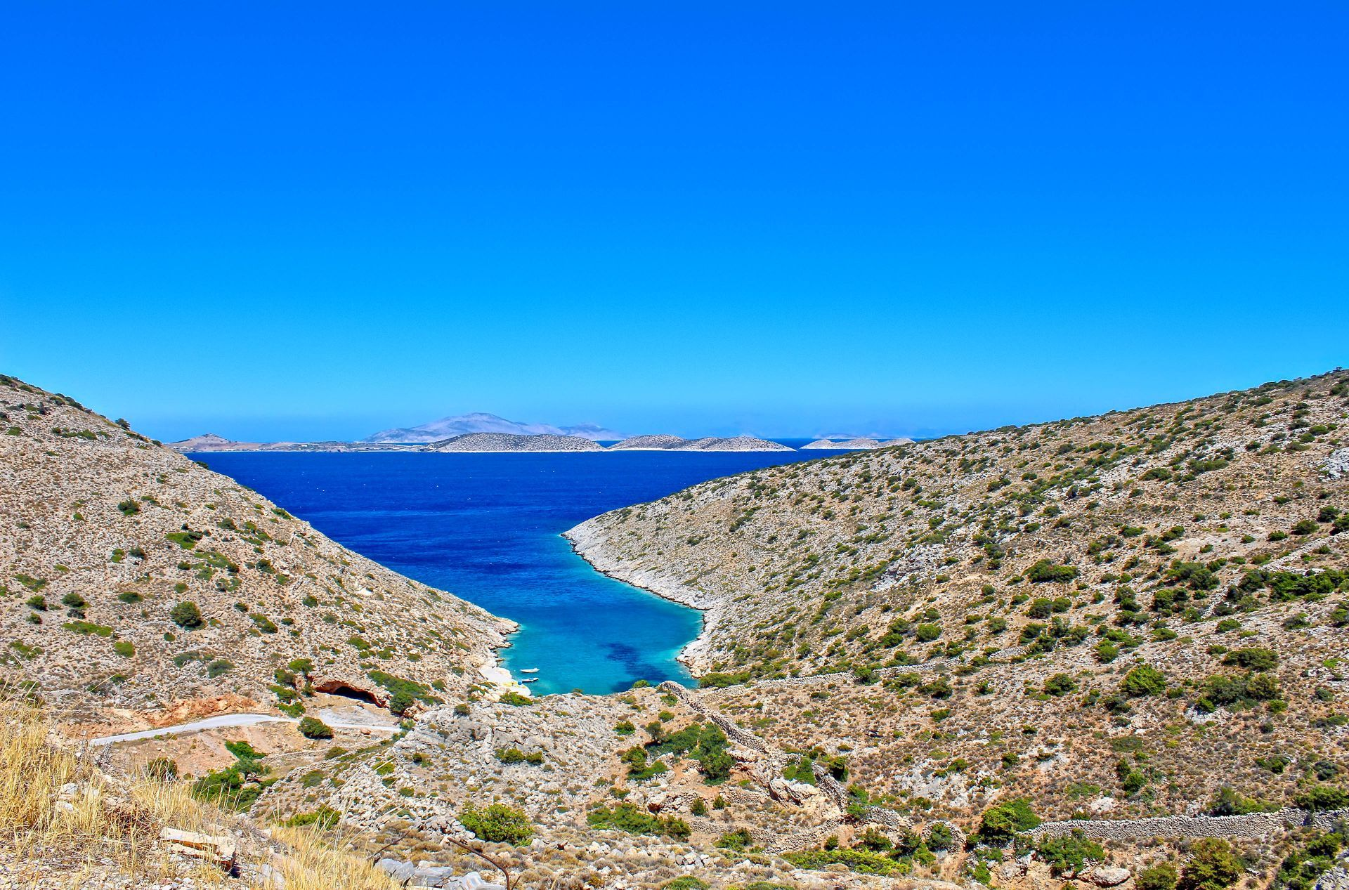 Iraklia island: Beaches