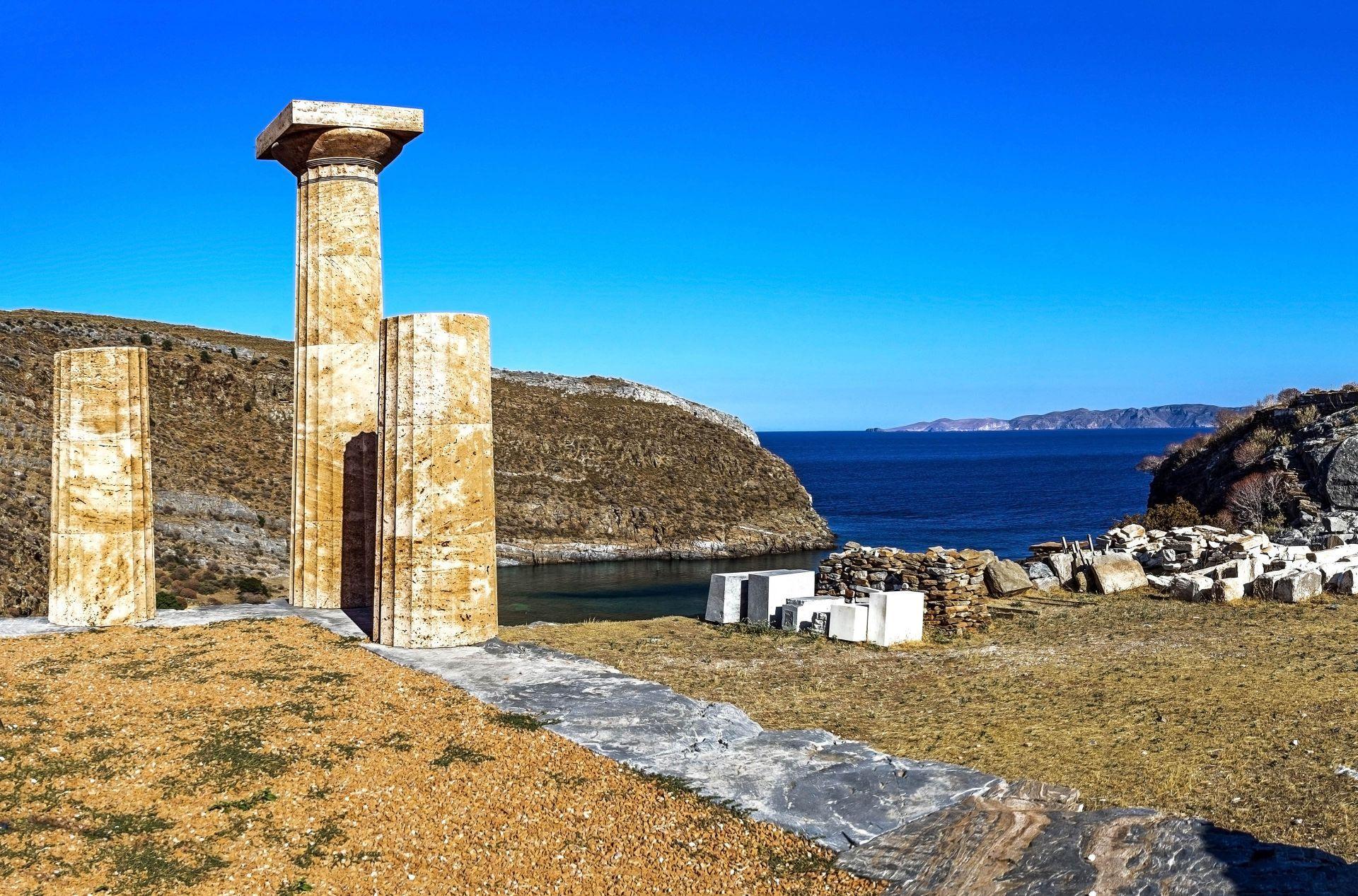 Kea island: Ancient Karthea
