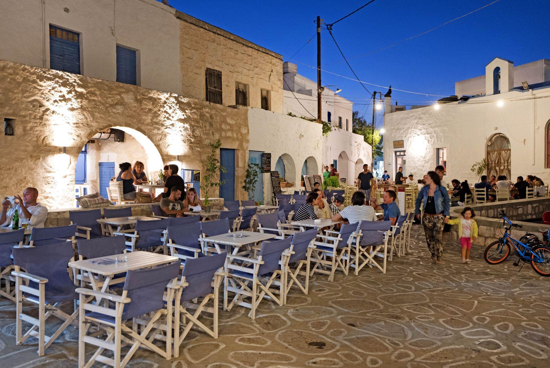 Cafes in Kimolos