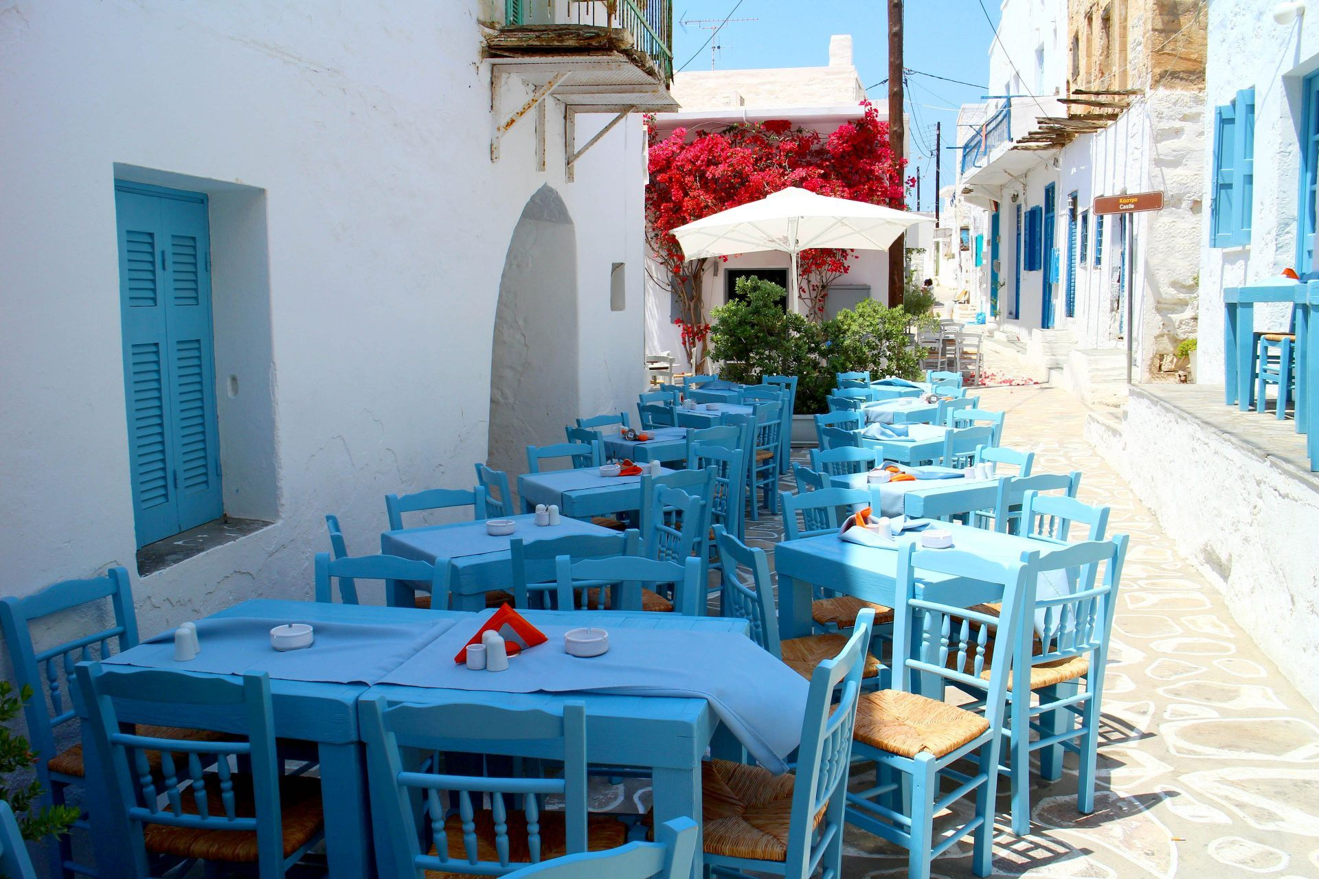 Places to eat and drink in Kimolos