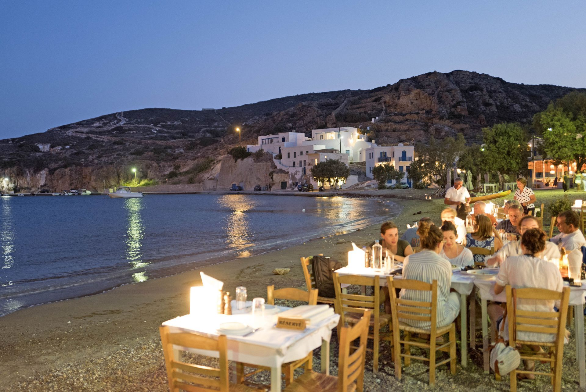Restaurants in Kimolos