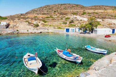 Fishing boats in Agios Nikolaos bay