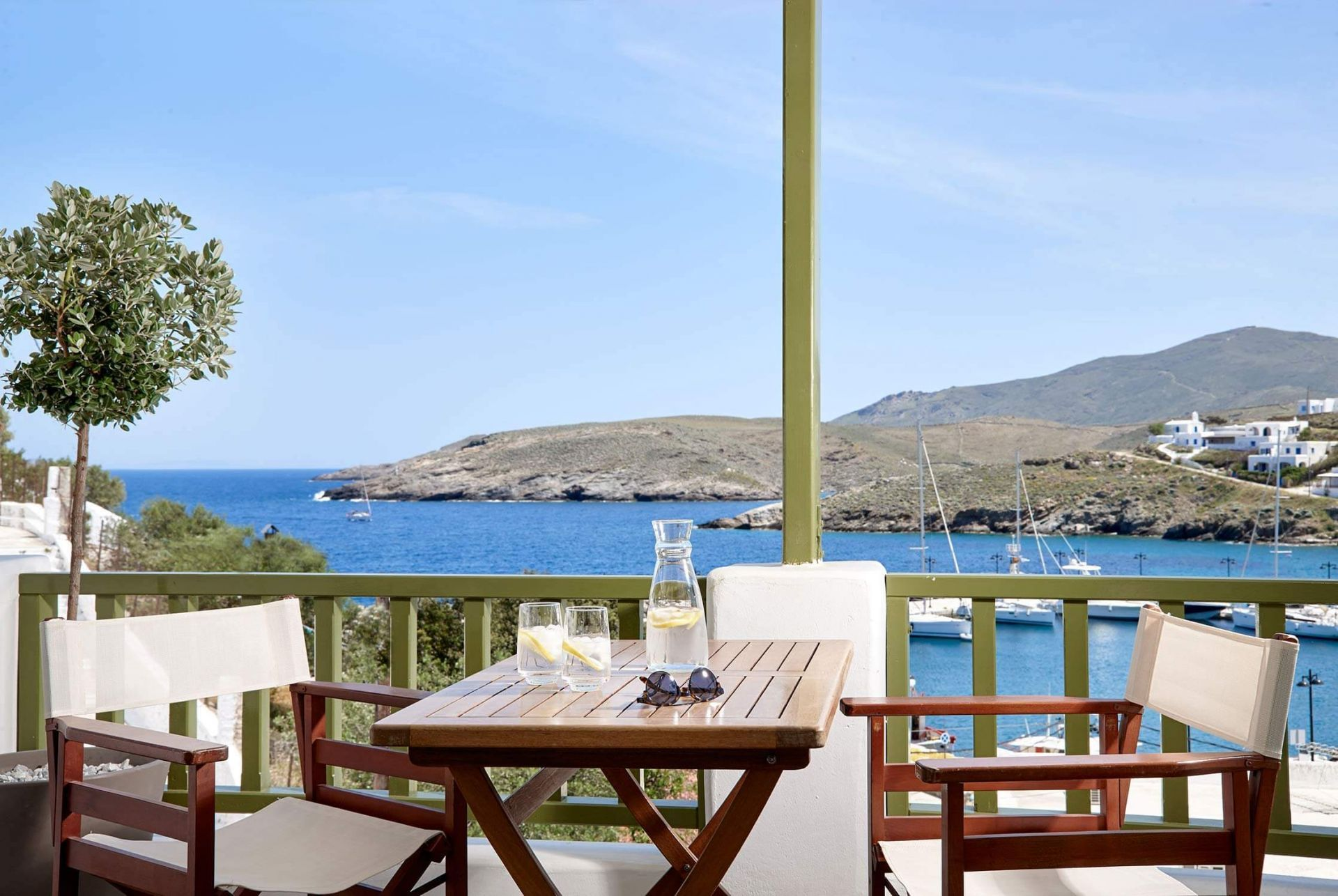 Accommodation and hotels in Kythnos