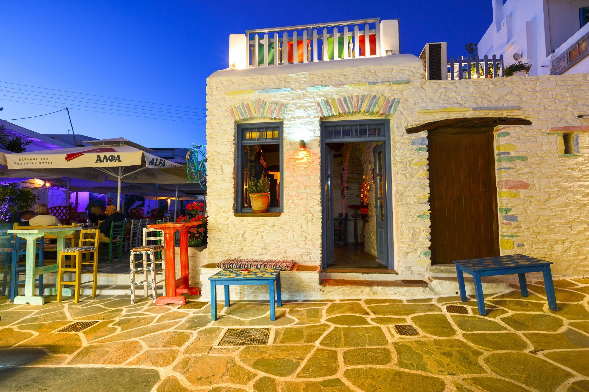 Bars in Kythnos