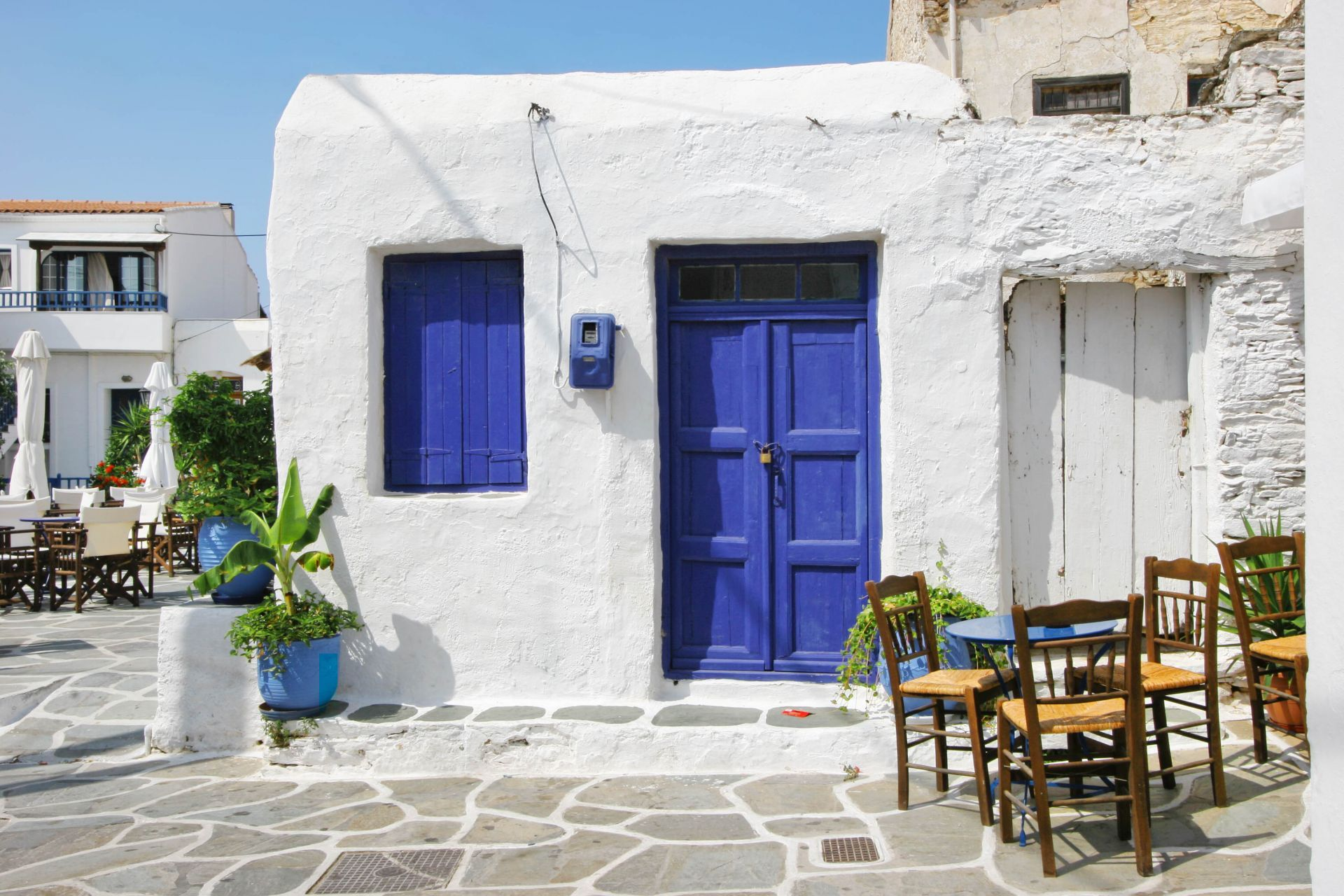 Places to eat and drink in Kythnos