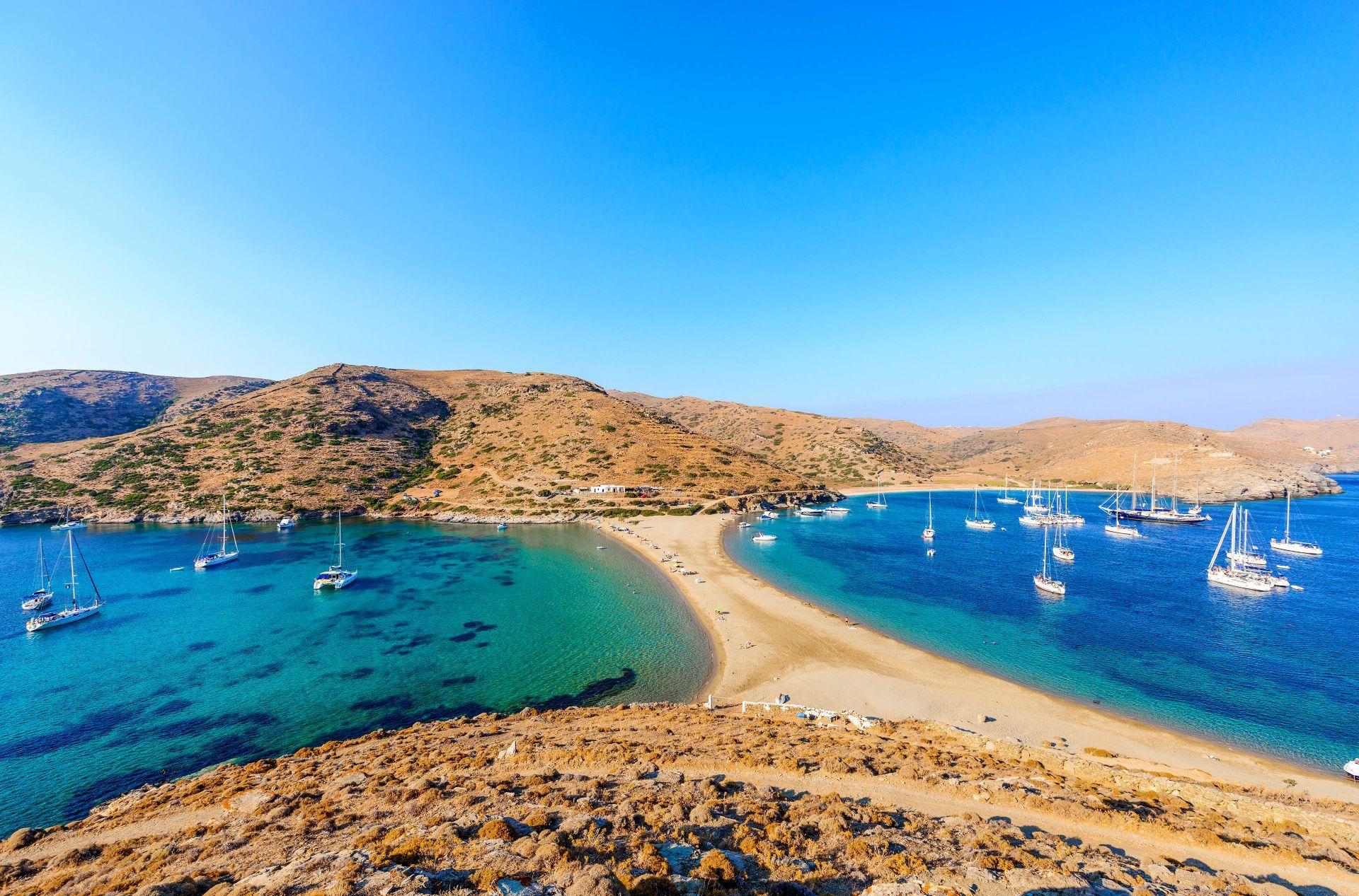Kythnos island: Kolona