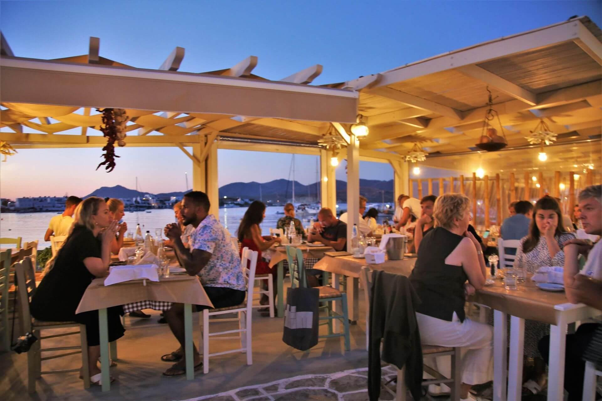Restaurants in Milos