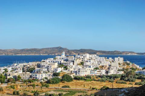 The whitewashed houses of Adamadas, Milos.