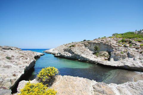 Kapros beach, Milos.