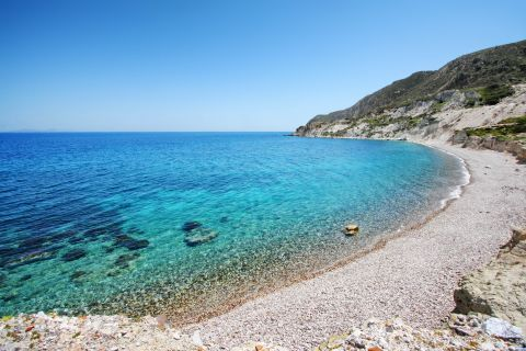 Kolibisionas beach, Milos.