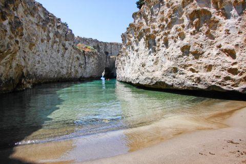 Papafragas beach, Milos.