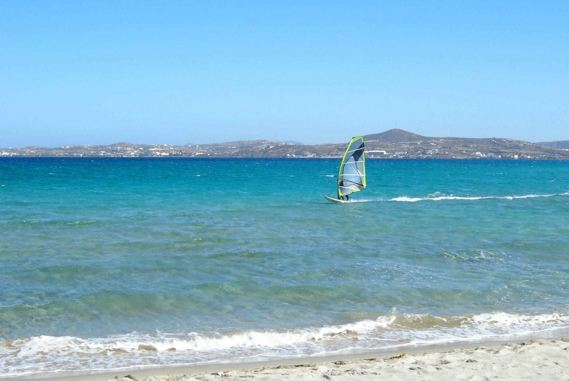 Sport activities in Milos