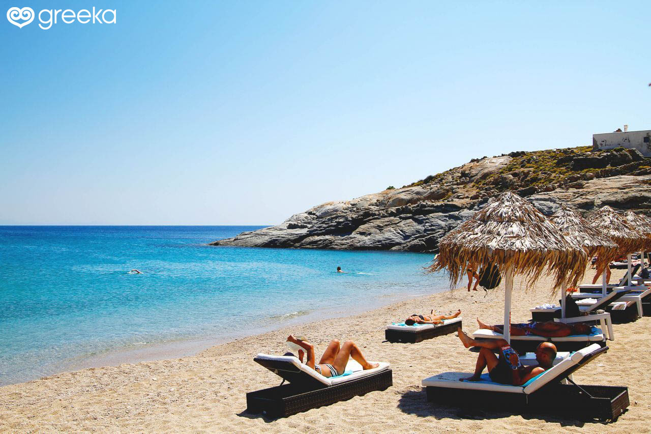 Best Island Beaches For Partying Mykonos St Barts: Best 25 Beaches In Mykonos Island