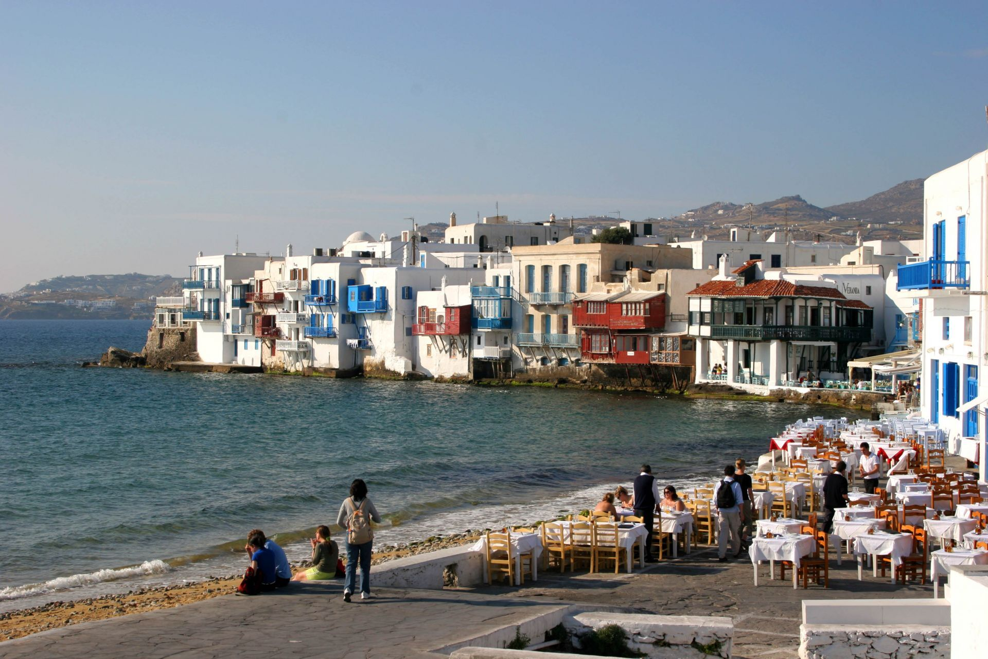 Places to eat and drink in Mykonos
