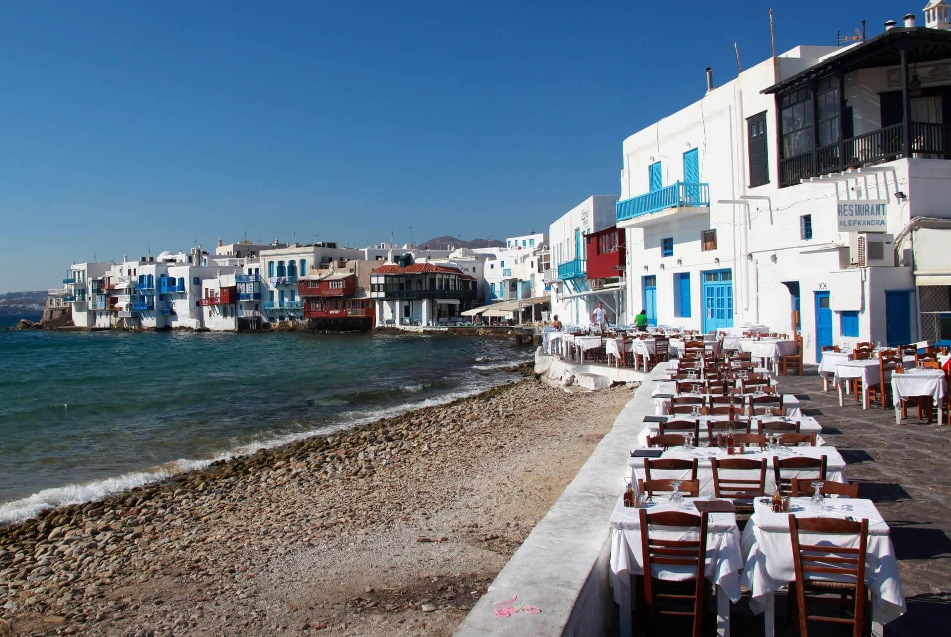 Best 33 Restaurants in Mykonos, Greece | Greeka.com