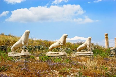 The Lions of Delos.