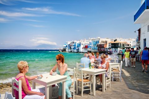 Little Venice, Mykonos.