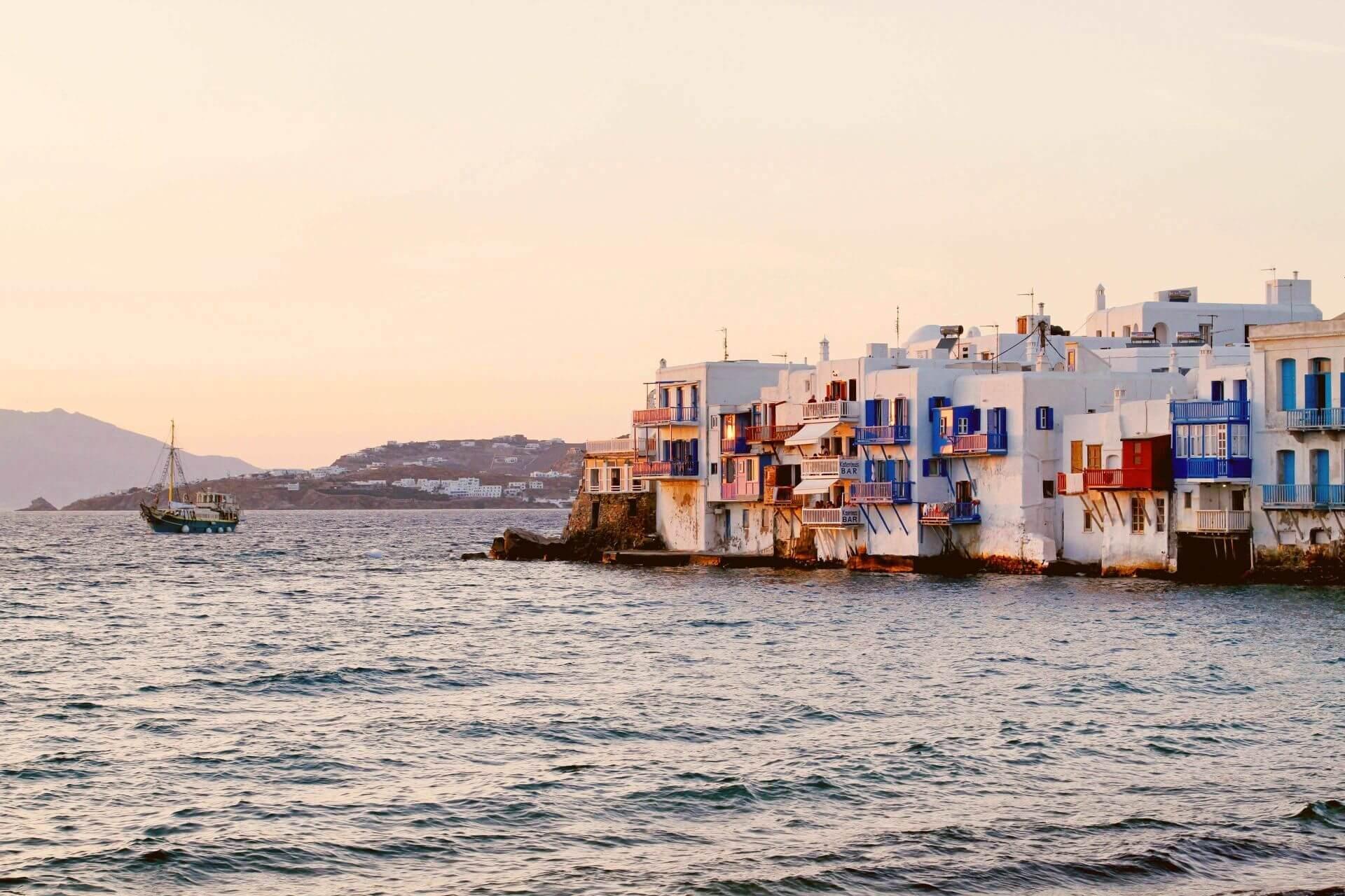 Mykonos: Little Venice in Mykonos Town