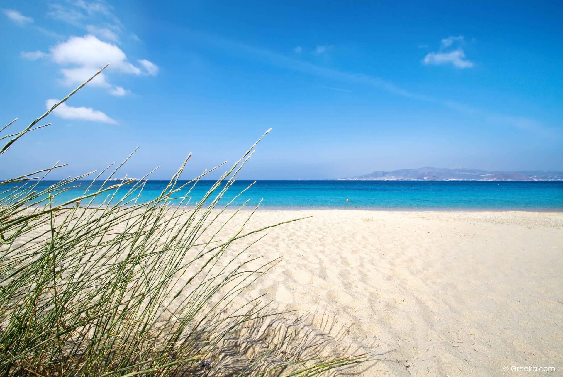 Naxos: Plaka beach