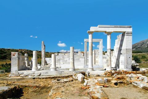The Temple of Demeter in Naxos