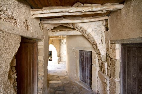 Inside the Castle of Naxos Town