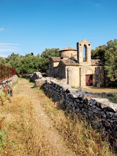 The Church of Agios Georgios Diasoritis in Halki