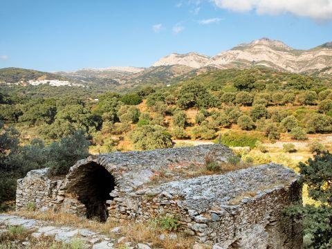 Landscape of Halki nature