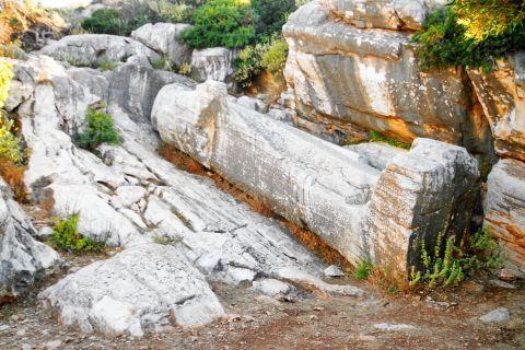 Kouros of Apollonas village