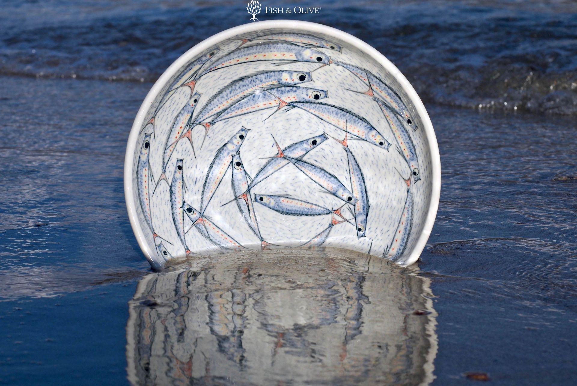 Shopping in Naxos: Fish & Olive Ceramics