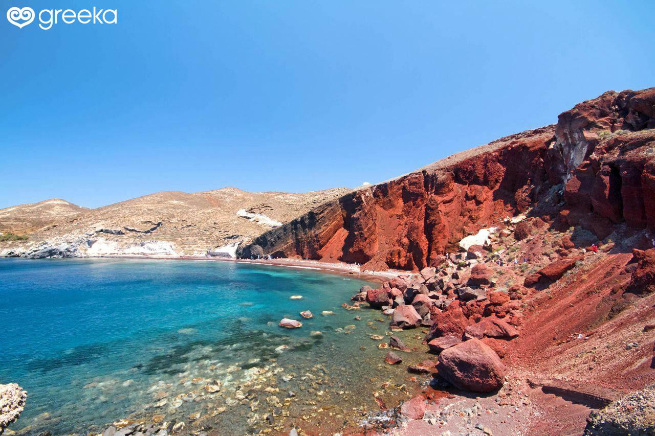 Best 19 Beaches In Santorini Greece Greeka Com