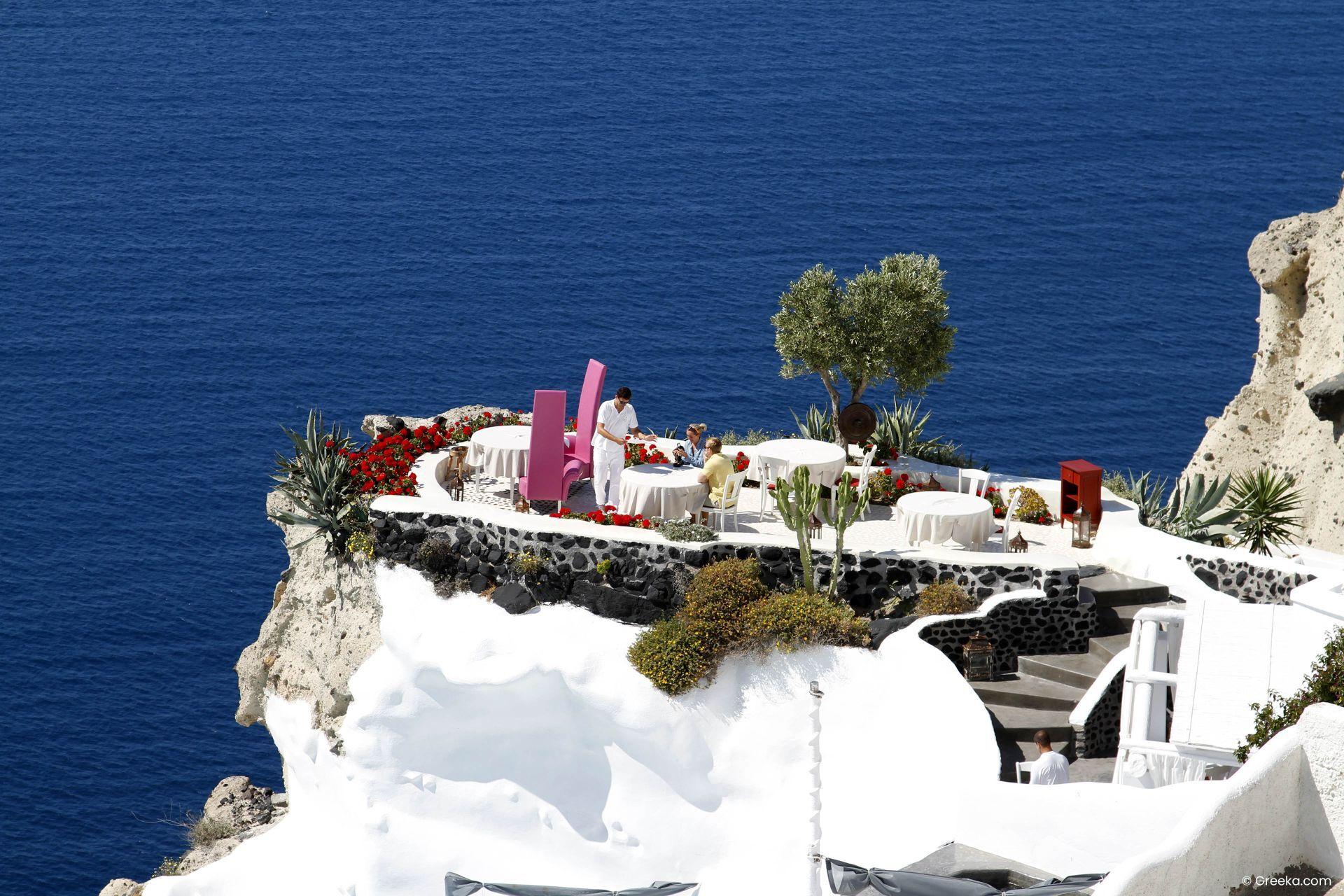 Restaurants in Santorini
