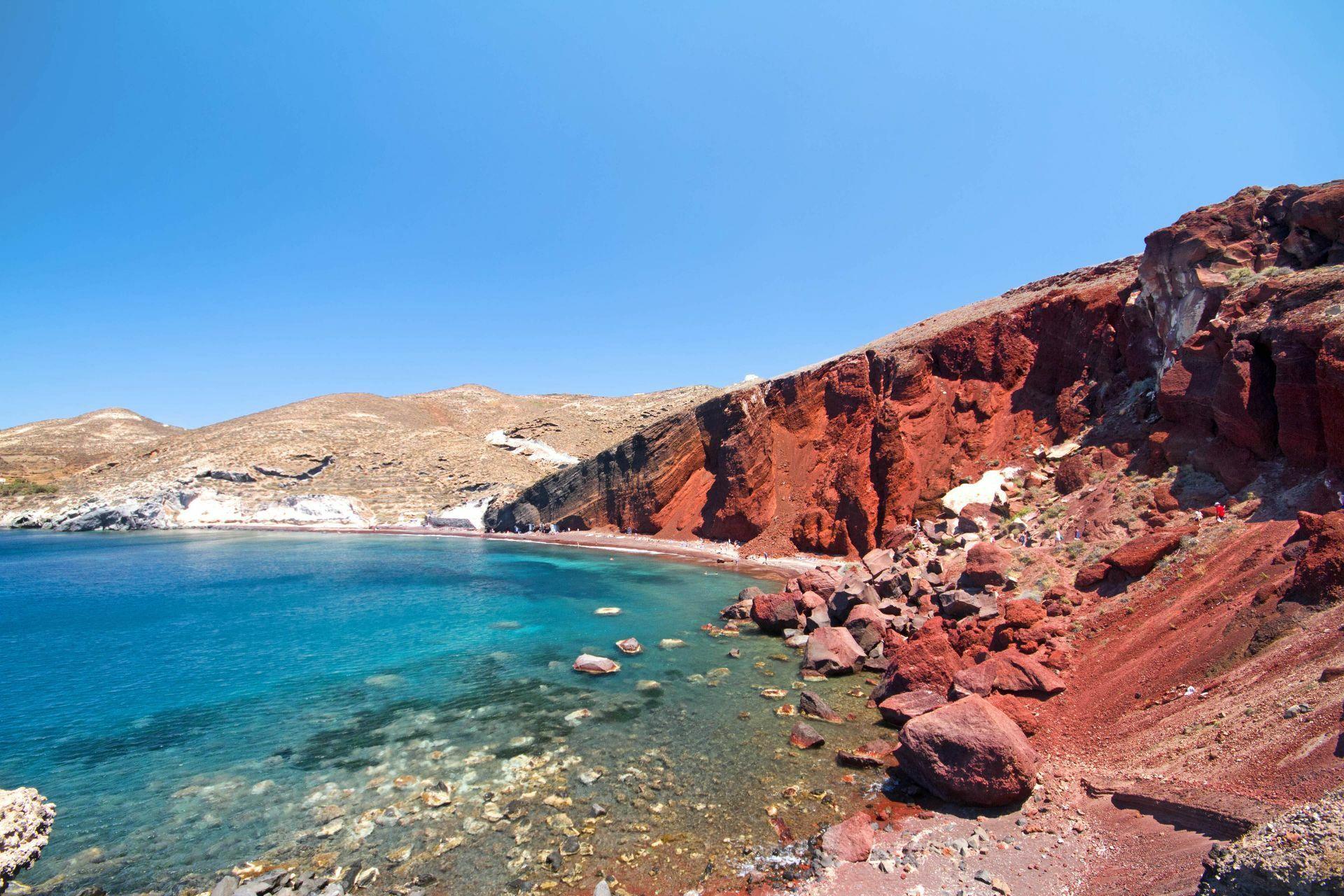 Santorini Greece: The Red Beach