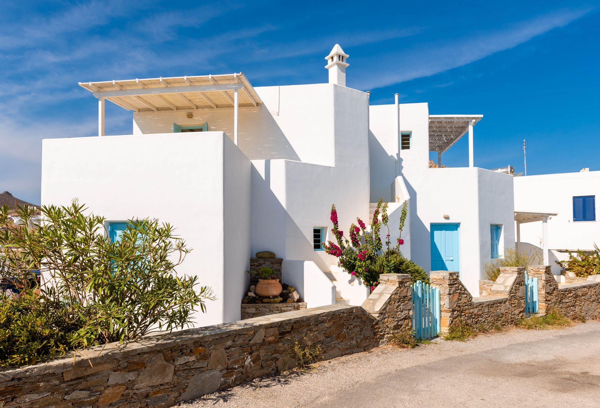 Accommodation and hotels in Serifos
