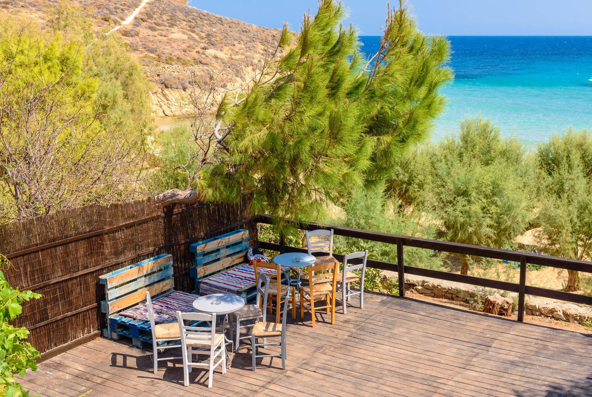 Cafes in Serifos